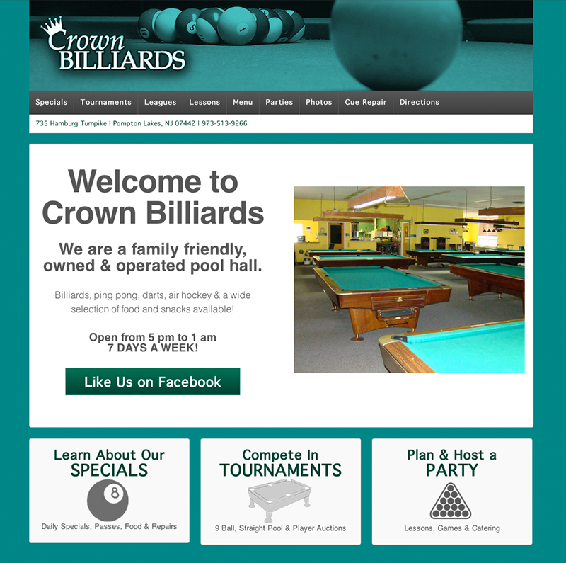 Crown Billiards