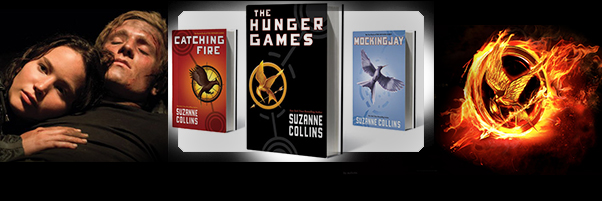 """The Hunger Games"" Trilogy by Suzanne Collins"