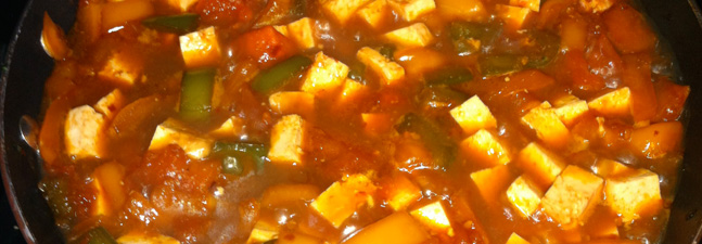 Spicy Tofu Sauce